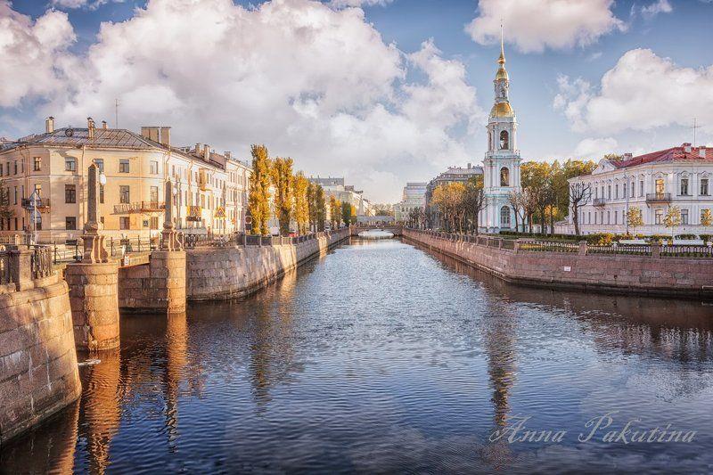 санкт-петербург, город Утро в городеphoto preview