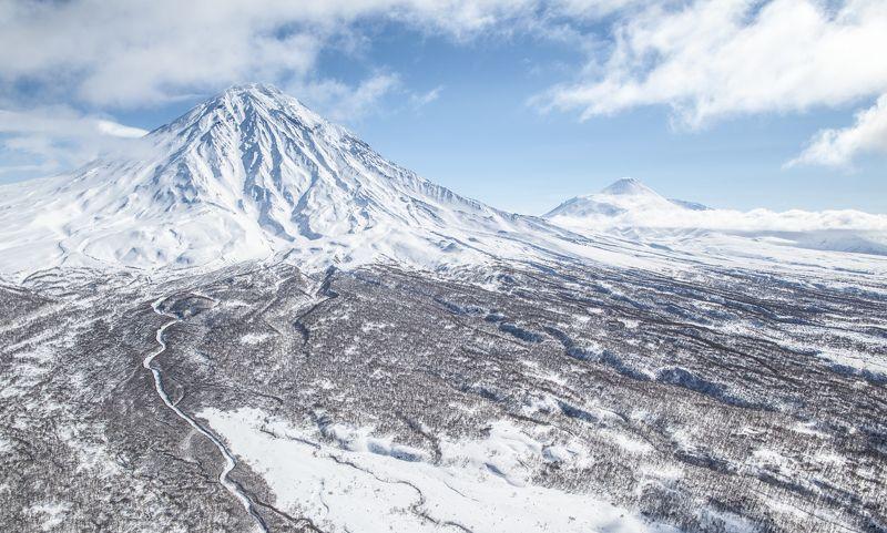kamchatka, heliskiiing, winter Здесь начинается Россияphoto preview