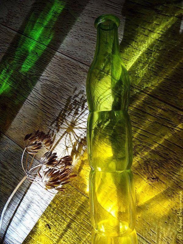 свет, цвет, стекляшки, зелёный,  жёлтый ***photo preview
