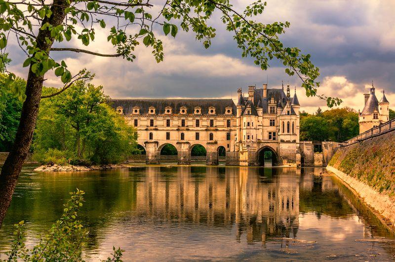 château de chenonceau, france, Дамский замокphoto preview