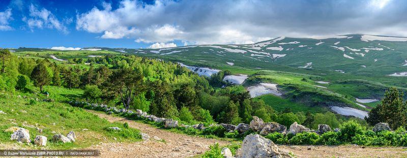 лагонаки, кавказ, заповедник, горы, лето, природа, панорама, Тропинками ускользающего летаphoto preview