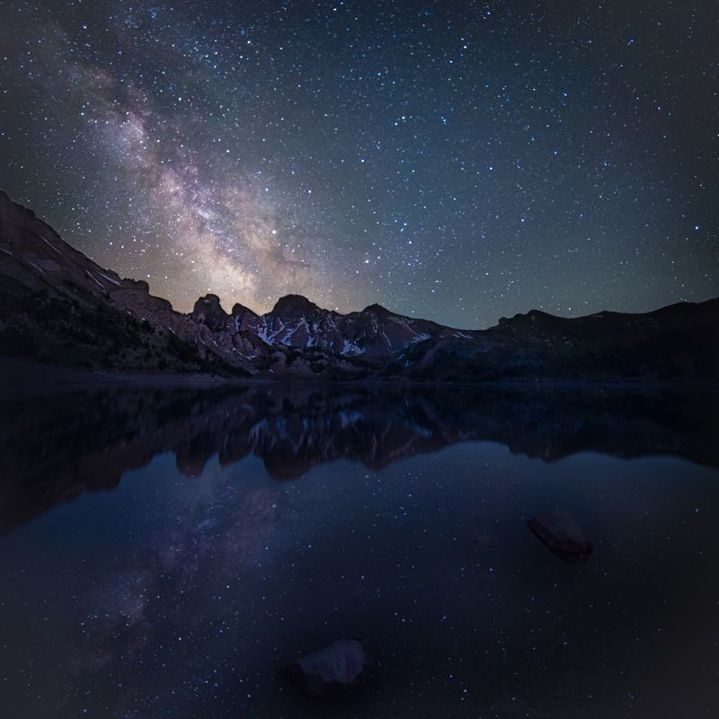 Milkyway and reflectionphoto preview