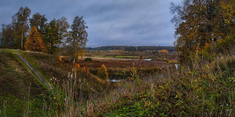Осень Тригорское Пушкинские горы Всё пройдётphoto preview