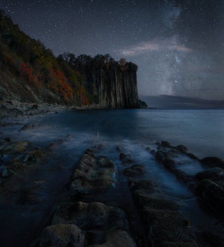 туапсе, чёрное море, краснодарский край, скала Скала Киселёваphoto preview