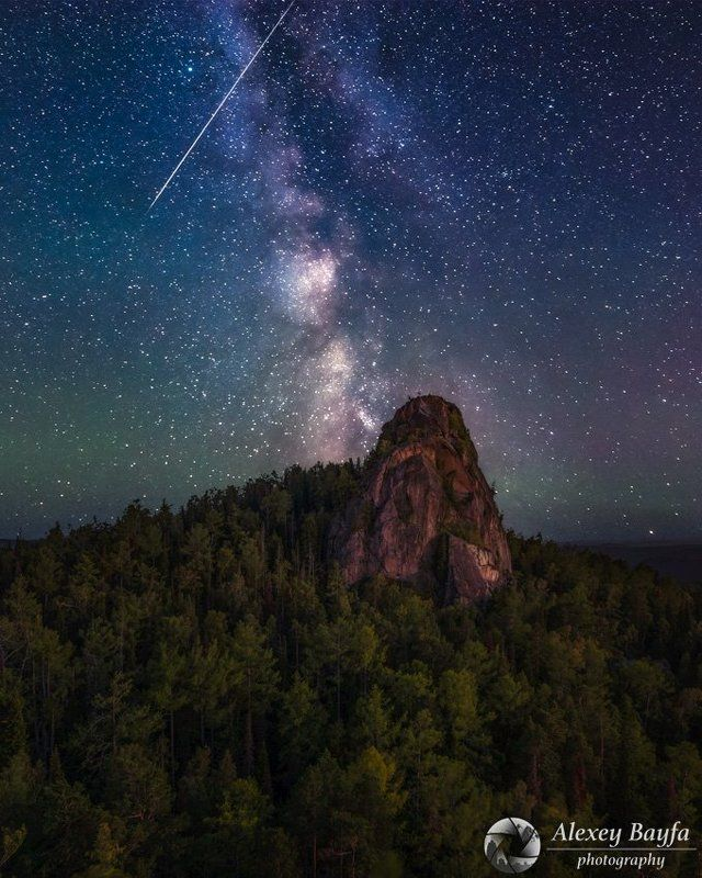 горы, звёзды, лето, млечный путь, пейзаж, ночь Сказки Млечного Путиphoto preview