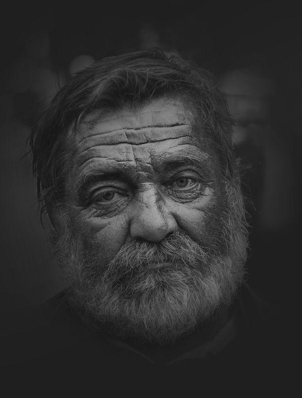 портрет Уличный философ.photo preview