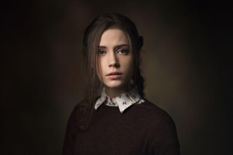 девушка, 2017, портрет, portrait, глаза, прическа, pretty Xeniaphoto preview
