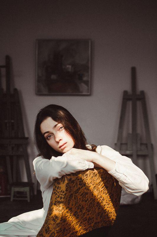 девушка, художница, муза, свет Concordia / Гармония душиphoto preview
