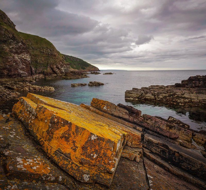 пейзаж, бухта, шотландия, berriedale Бухта Berriedale, Шотландияphoto preview