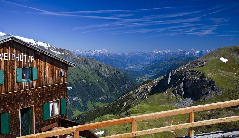 высокогорная дорога Открытка из Австрииphoto preview