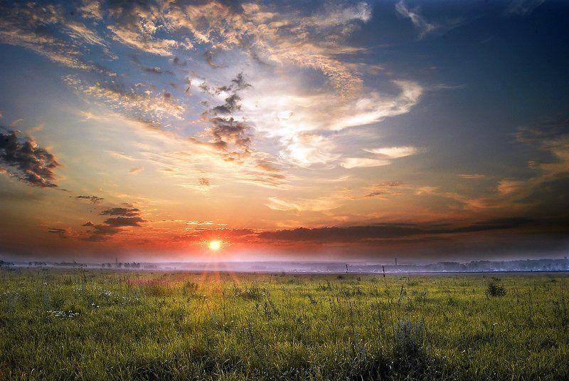 Провожая солнце после дождяphoto preview