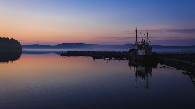 ладога Закат на Ладожском озереphoto preview