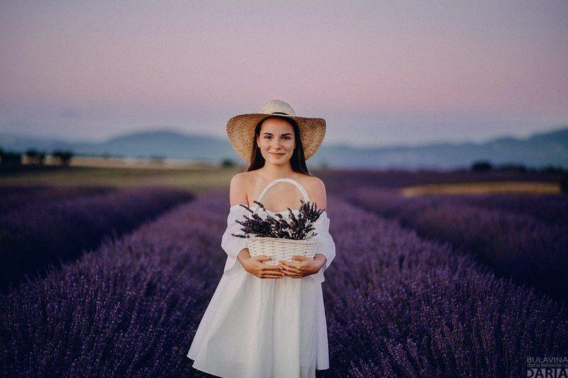 лавандовое поле,  лаванда,  портрет, сашаспилберг,  прованс, франция Александраphoto preview