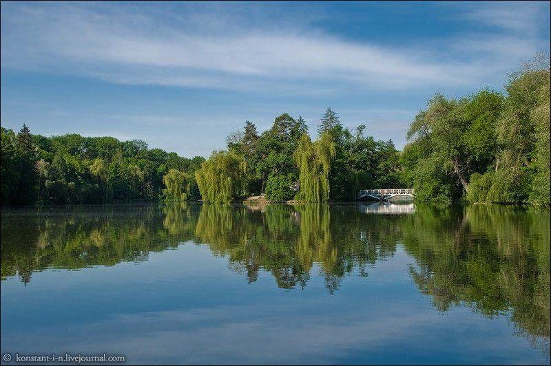 украина, софиевка, пейзаж, путешествия, остров, озеро Остров любвиphoto preview