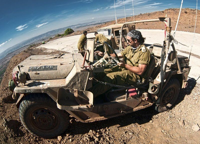 израиль, голаны, горы, граница, солдаты, пепелац На страже Голанphoto preview