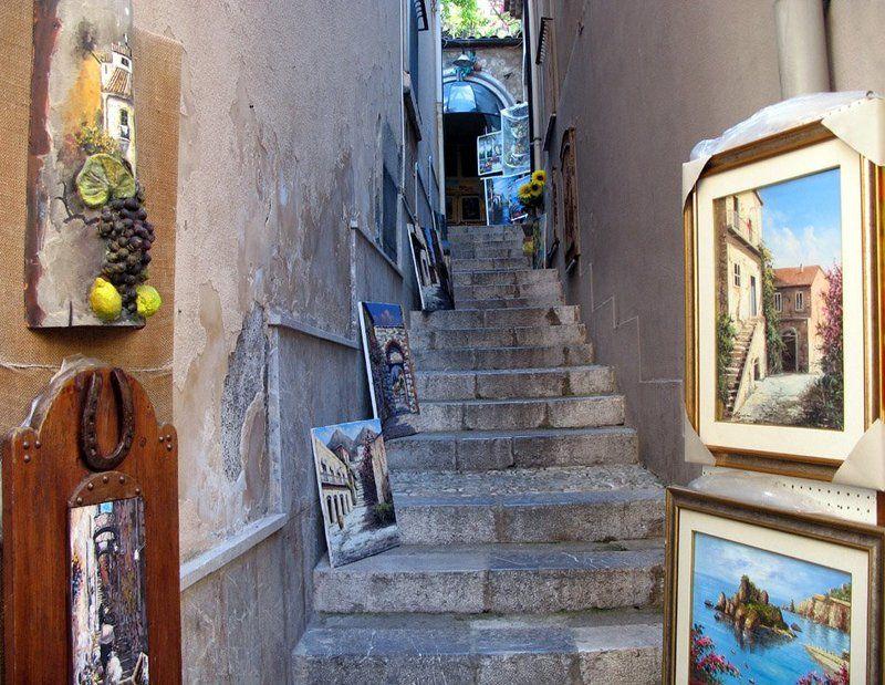 картина, лестница Картинная лестницаphoto preview