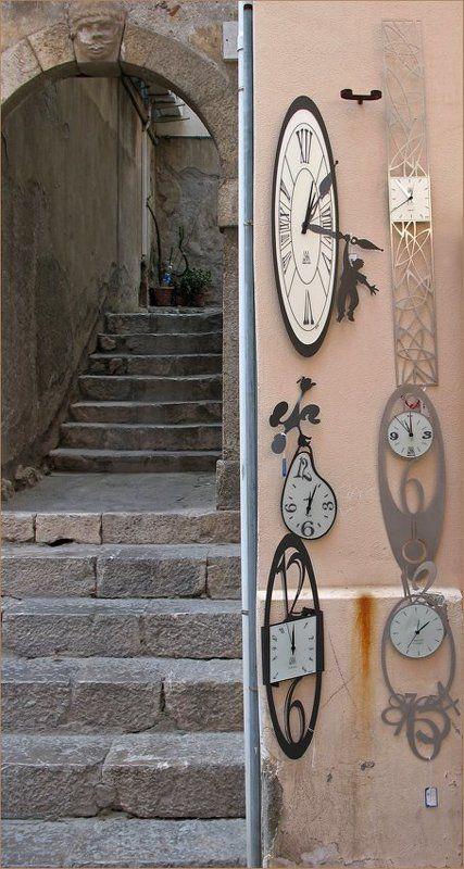 время, часы, лестница Временная лестницаphoto preview