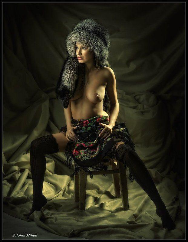 русская, зима photo preview