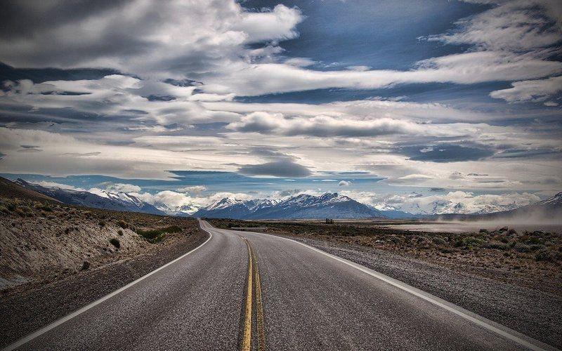 дорога, облака Сонная дорога в облакаphoto preview