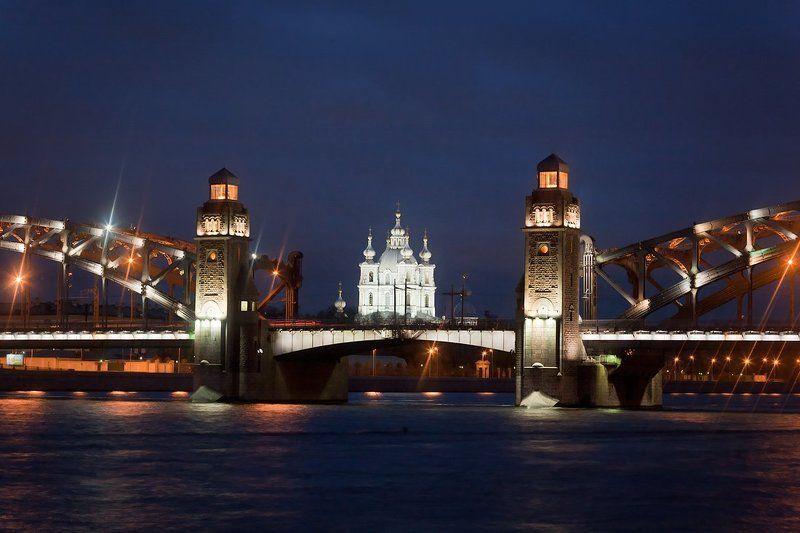 питер, мост, петра, великого две башниphoto preview
