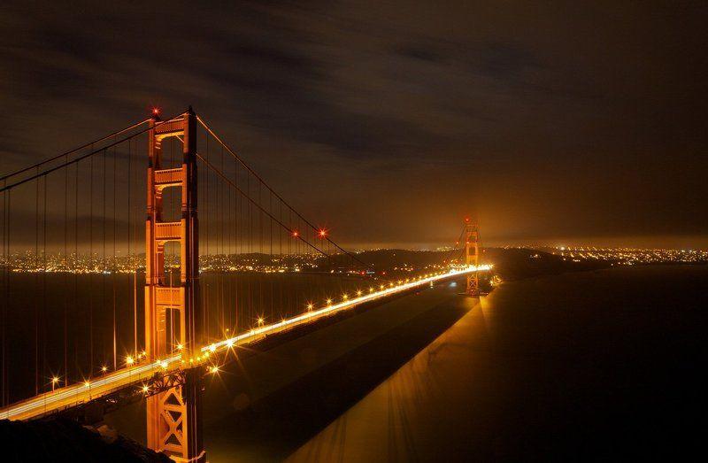 Night Golden Gate Bridgephoto preview
