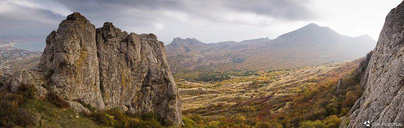 крым, кара-даг, панорама Кара-Даг (панорама)photo preview