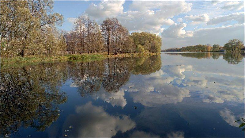 осень, облака, река, шаловка, старая, купава Осенние облакаphoto preview