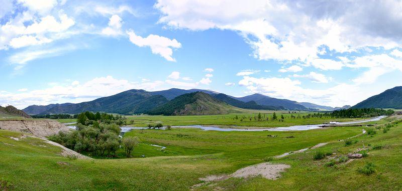 Алтай, Усть, Горный, Altai, Долина Посёлок Усть-Какой то...photo preview