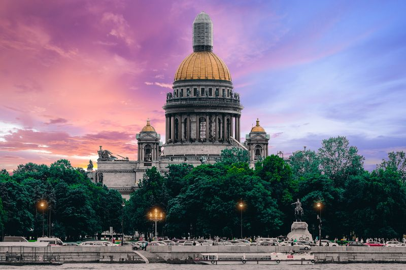 summer, russia, спб, лето, city, sky, небо, город, архитектура, река Saint Petersburgphoto preview