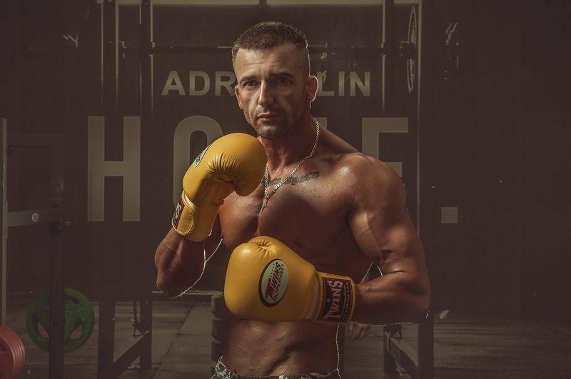 спорт, красивое тело, атлет. мужская съемка, бокс Атлетphoto preview