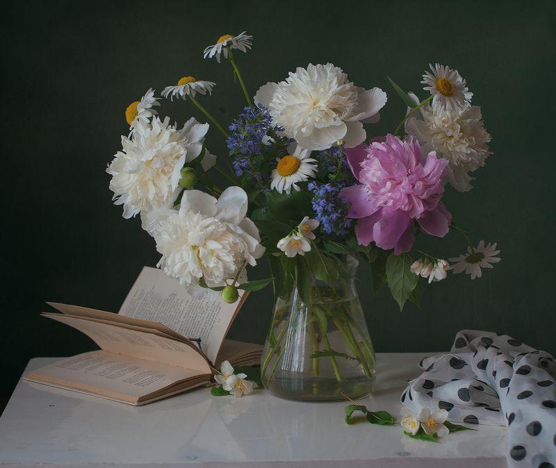 пионы,цветы, ностальгия Их аромат как память детства моего...photo preview