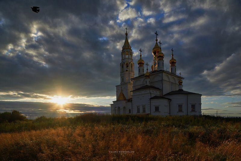 Храм на закате.photo preview