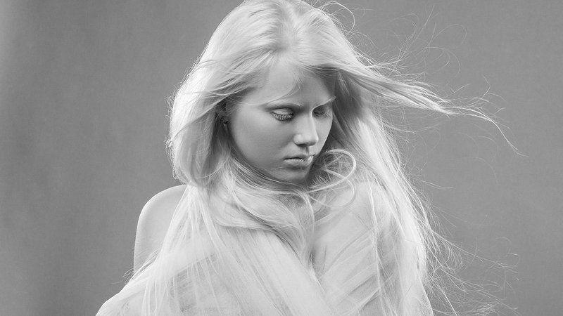 портрет, студийный портрет, девушка photo preview