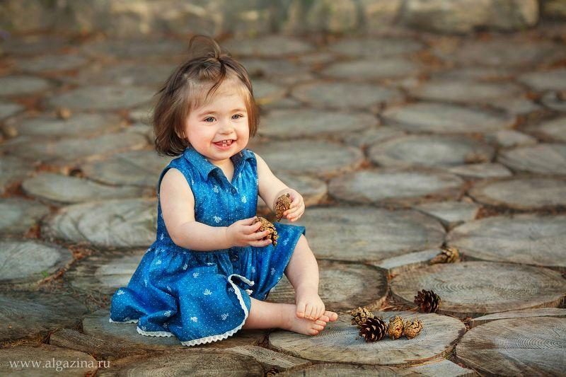 дети ребенок малыш детская фотография девочка Шишкиphoto preview