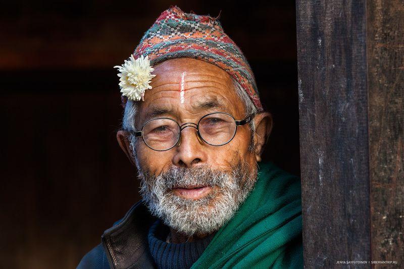 непал, гималаи, бхактапур, портрет, человек Портрет из Бхактапураphoto preview