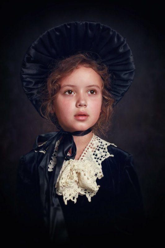 дети портрет девочка скарлетт Маленькая Скарлеттphoto preview