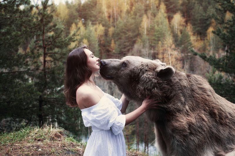 Медведь Степан Медвежий поцелуйphoto preview