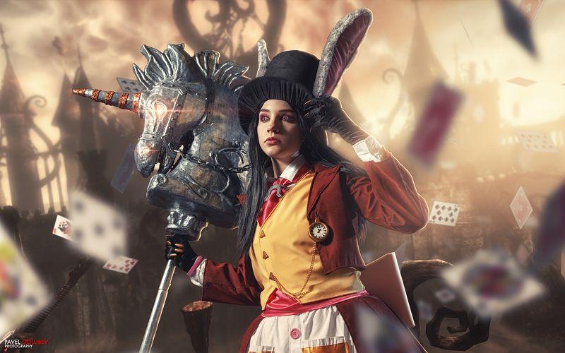 golubevphoto, Alice, Алиса, косплей, cosplay, madness returnes, ава экспо Алисаphoto preview