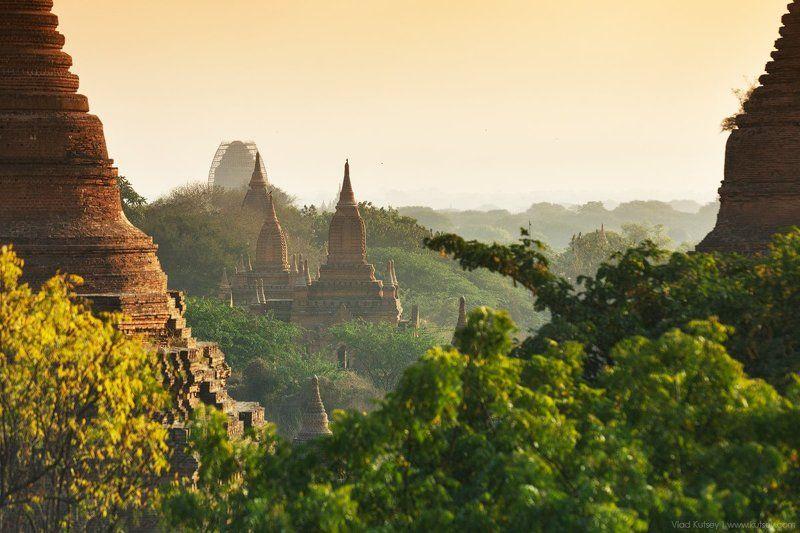азия,баган,бирма,пагода,рассвет,Утро,храмы,пагоды,мьянма,Myanmar,Burma,pagoda,Bagan,pagan Burmaphoto preview