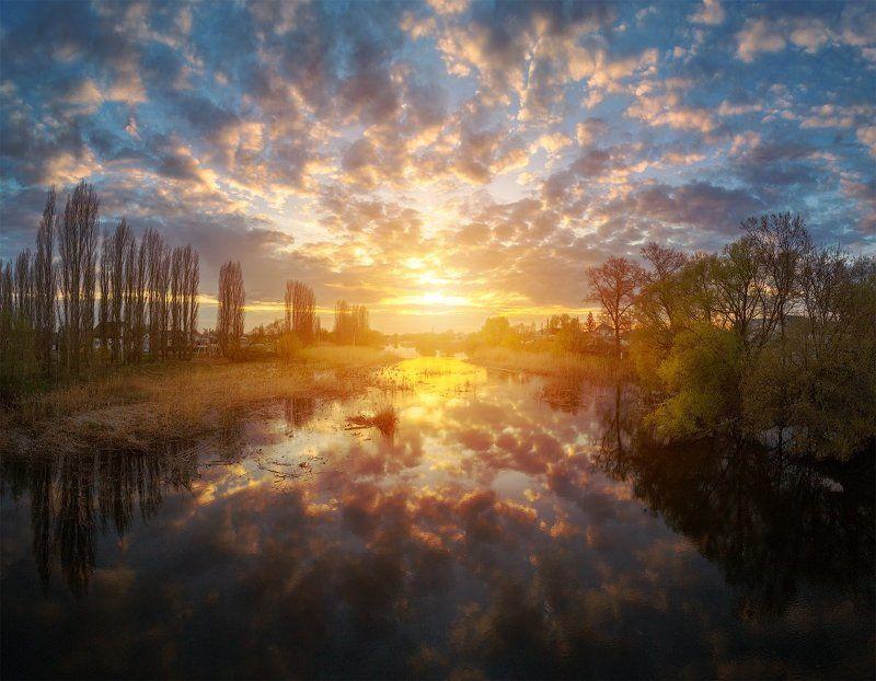 Теплый Закат на Усманкеphoto preview