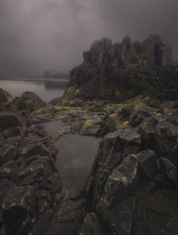 Дальние зеленцы,Кольский полуостров, Dalnije Zelentsy, гроза The calm before the stormphoto preview