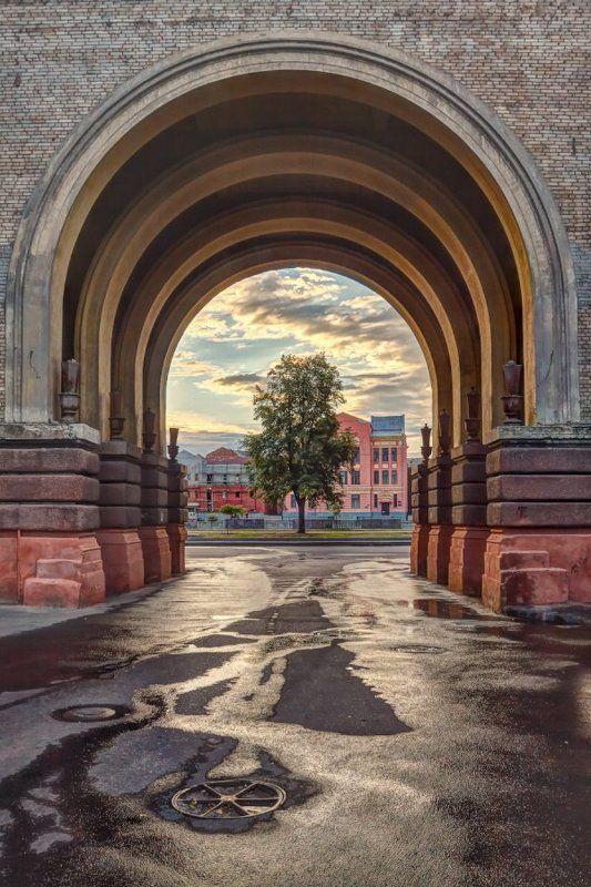 Утро в городеphoto preview