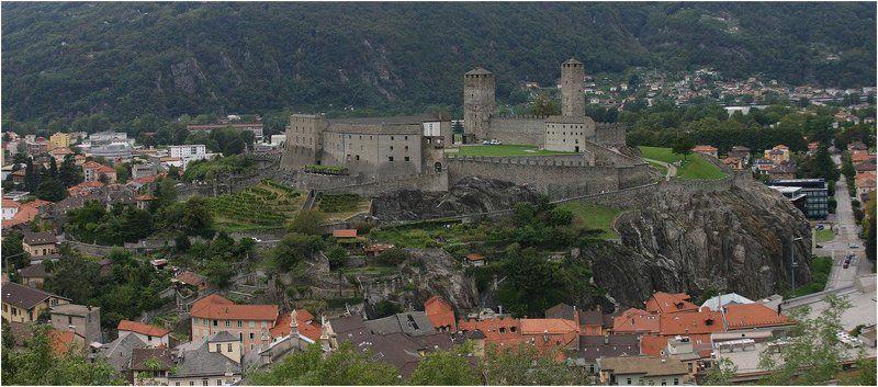 Лугано-замок Кастель Грандеphoto preview