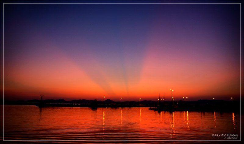 greece, limnos, sunset, evening, вечер, закат Last lightphoto preview