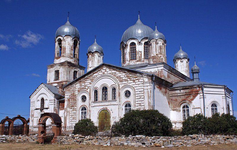 церковь, деревня, вознесенка Церковь Вознесения Господняphoto preview