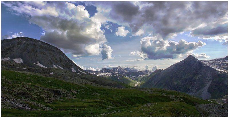 алтай, капчал, катунский, хребет Капчалphoto preview
