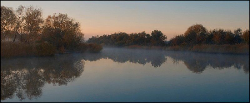 дон, лагутник, осень, утро Рассветная тишинаphoto preview