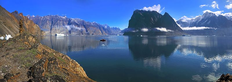 Fascinating !!! Fjords West Greenland  ...photo preview