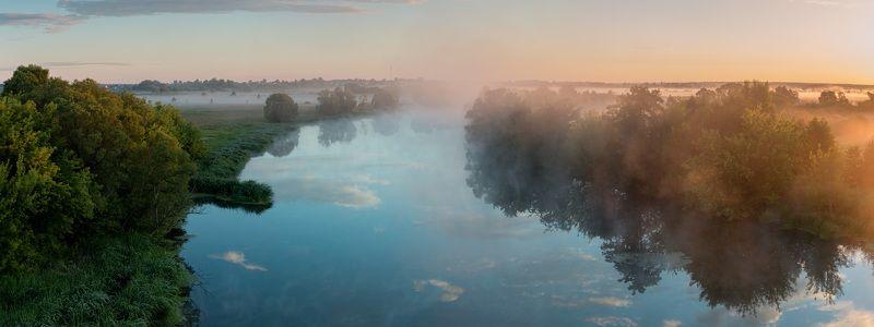Утренняя панорама с моста в с.Татановоphoto preview