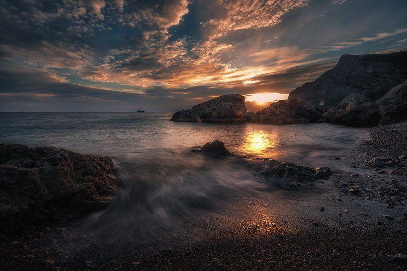 крым, ласпи, пейзаж, природа, черное море ***photo preview